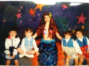 Disney with my sibs when I was young!