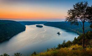 pennsylvania river in Danville