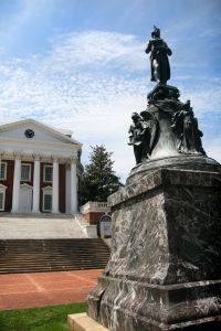 university of virginia thomas jefferson statue