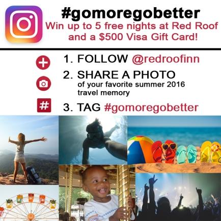 summer 2016 #gomoregobetter contest