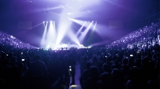 concert arena image template