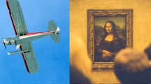 flight - airplane - museum - art - dual image